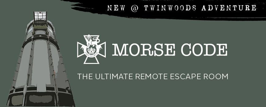Twinwoods: Morse Code escape room