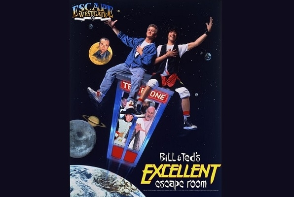 Bill and Ted's Excellent Escape Room