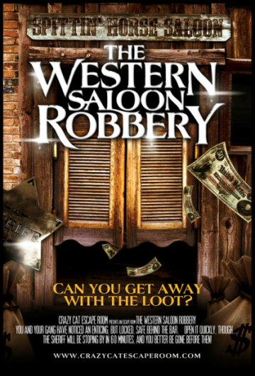 The Western Saloon Robbery
