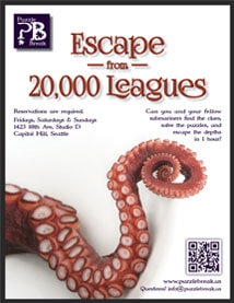 Escape from 20,000 Leagues